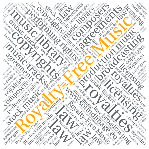What is royalty-free music?